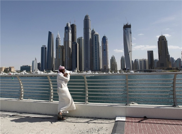 19. Tháp Princess ở Dubai, UAE cao gần 414 m.