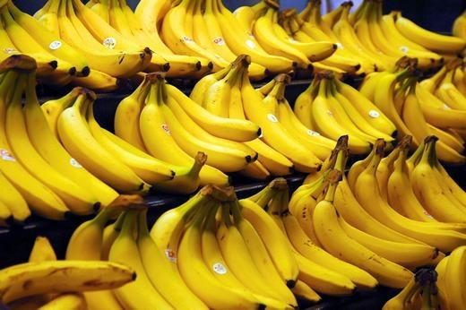 Chuối là trái cây phổ biến nhất trên thế giới. (Ảnh: Internet)