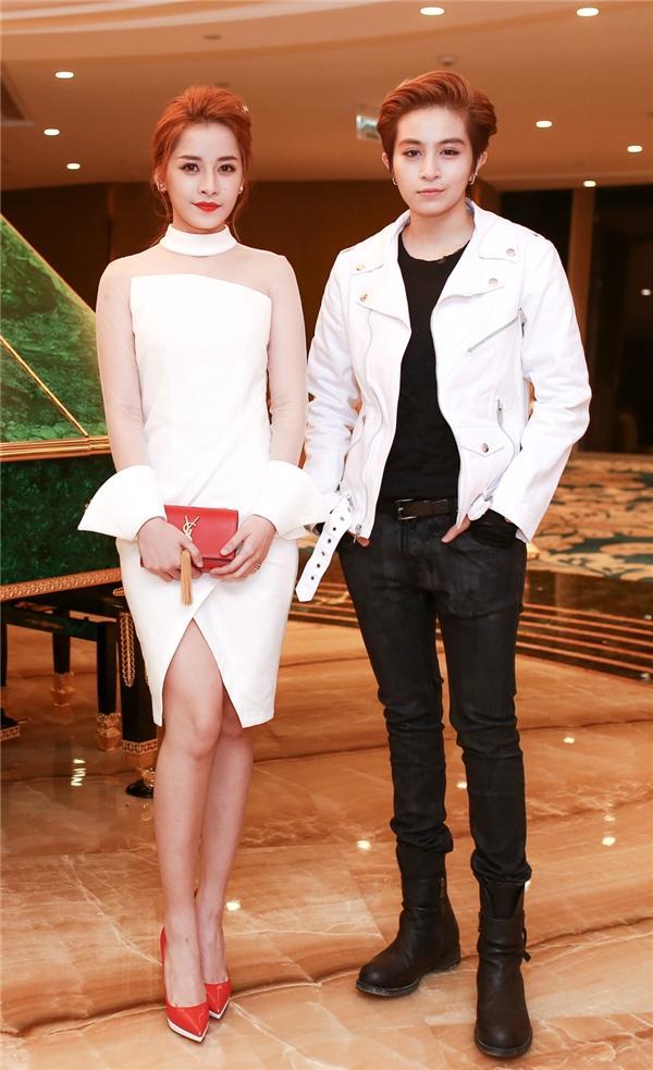 Bộ đôi diễn viên phim Yêu thu hút sự chú ý của quan khách và truyền thông. - Tin sao Viet - Tin tuc sao Viet - Scandal sao Viet - Tin tuc cua Sao - Tin cua Sao