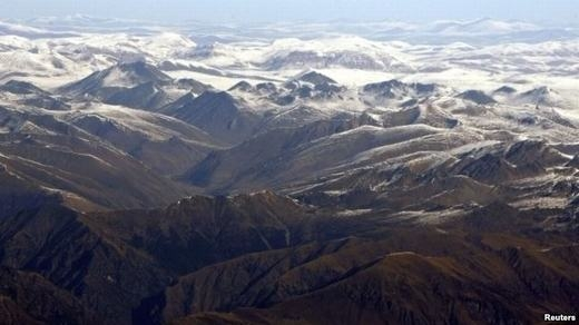 Băng ở Tây Tạng đang tan nhanh. (Ảnh: Reuters)
