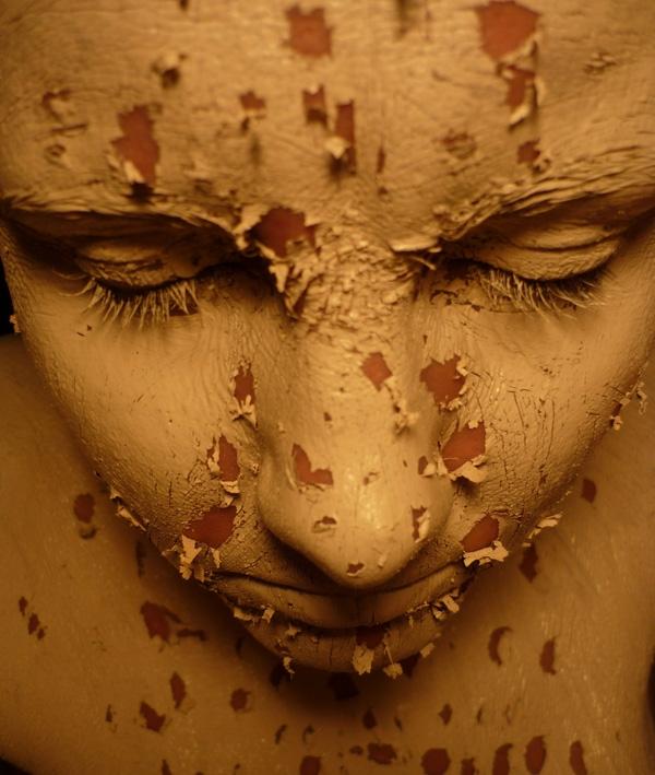 Tác phẩm nghệ thuật lột tả sự đáng sợ của BDD. Người thực hiện là nghệ sĩ Liz Atkin - người mắc phải chứng mặc cảm ngoại hình từ năm 8 tuổi