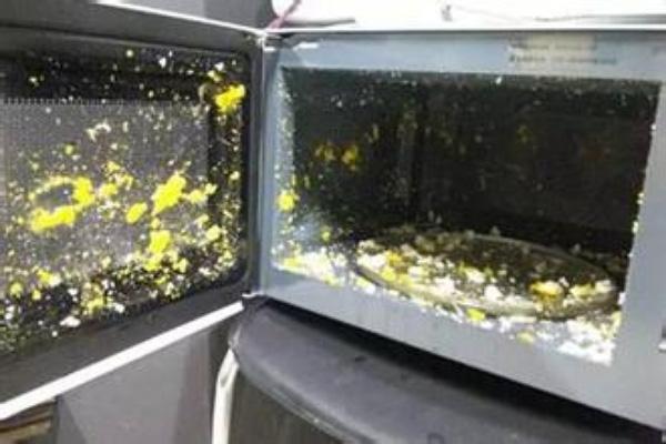 Hâm nóng trứng trong lò vi sóng có thể gây tác hại khôn lường. (Ảnh minh họa).