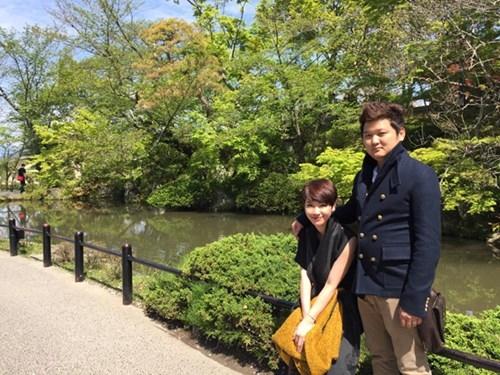 Hình ảnh vợ chồng Trà My trong chuyến đi Nhật. - Tin sao Viet - Tin tuc sao Viet - Scandal sao Viet - Tin tuc cua Sao - Tin cua Sao