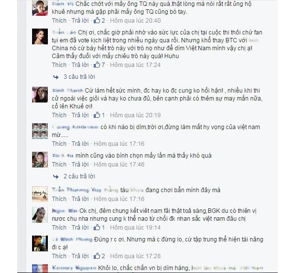 Hàng loạt bình luận bày tỏ sự bối rối khi phần bình chọn của Lan Khuê bất ngờ bị chặn. - Tin sao Viet - Tin tuc sao Viet - Scandal sao Viet - Tin tuc cua Sao - Tin cua Sao
