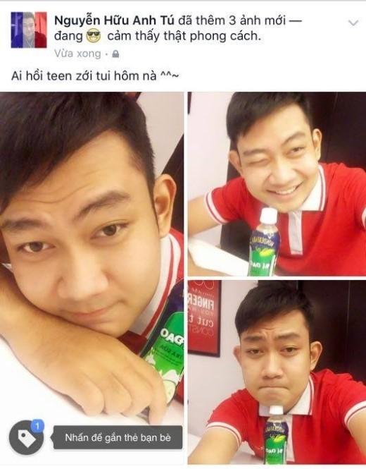 """""""… hôn nè?"""" khiến không ít bạn trẻ hồi teen, như chàng trai Nguyễn Hữu Anh Tú đã đăng lên dòng thời gian: """"Ai hồi teen zới tui hôm nà (một biến thể của """"… hôn nè?"""")."""""""