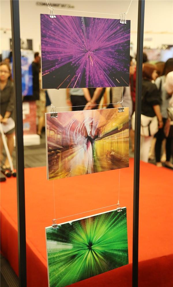 Điểm đặc biệt tại sự kiện là những tác phẩm thể hiện cá tính riêng của từng sinh viên tham dự.