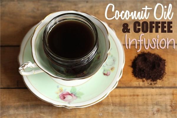 Tự chế dầu cà phê cho da trắng, tóc mượt