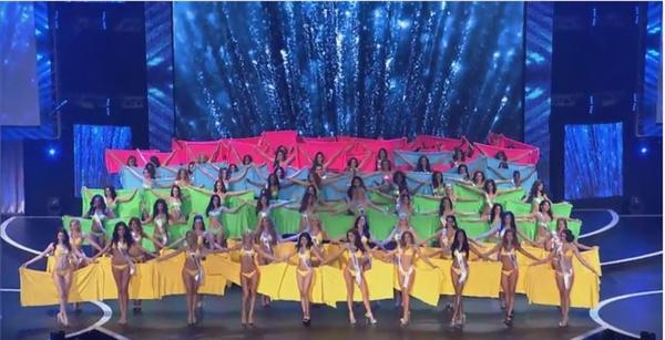 Sau đó, phần thi được mong chờ nhất đã diễn ra - phần thi bikini. Trên nền nhạc sôi động, các nhan sắc đã nhún nhảy thật nhịp nhàng tạo nên hiệu ứng khá bắt mắt. - Tin sao Viet - Tin tuc sao Viet - Scandal sao Viet - Tin tuc cua Sao - Tin cua Sao