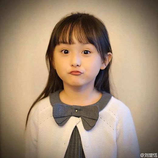 Cô bé có gương mặt thiên thần vô cùng đáng yêu. (Ảnh: Internet)