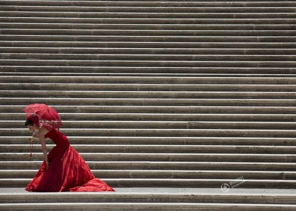 Bức ảnh được chụp tại Rome, Ý vào ngày 24/7 bởi Alessandra Tarantino.