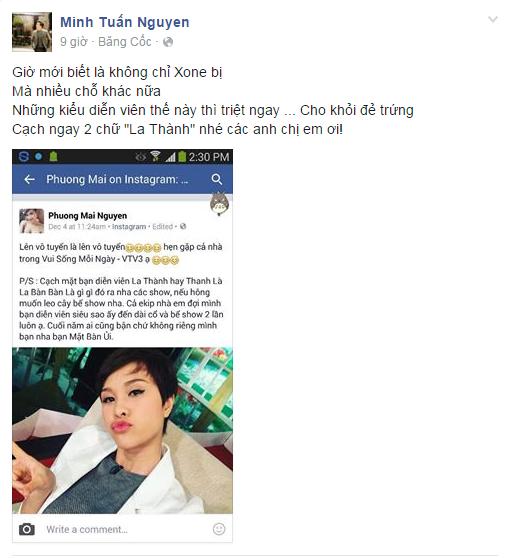 Sau chia sẻ của Phương Mai, MC Minh Tuấn cũng tỏ ra đồng cảm với nữ ca sĩ. - Tin sao Viet - Tin tuc sao Viet - Scandal sao Viet - Tin tuc cua Sao - Tin cua Sao