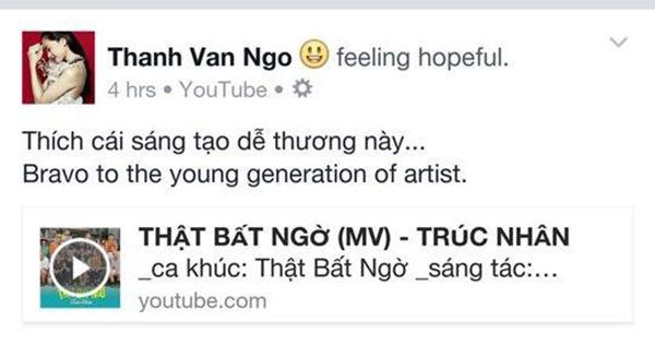 Sao Việt hào hứng chia sẻ MV mới của Trúc Nhân - Tin sao Viet - Tin tuc sao Viet - Scandal sao Viet - Tin tuc cua Sao - Tin cua Sao