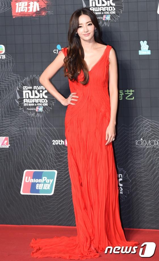 Hình ảnh mới nhất của nữ diễn viên tại lễ trao giải MAMA 2015 vừa diễn ra