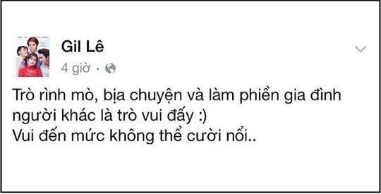 Những status trên Fanpage của cả hai mới đây. - Tin sao Viet - Tin tuc sao Viet - Scandal sao Viet - Tin tuc cua Sao - Tin cua Sao