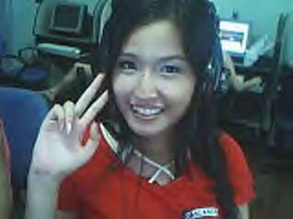 """Bức ảnh """"lừa tình"""" được chụp bằng webcam hàng net mà ai cũng có."""
