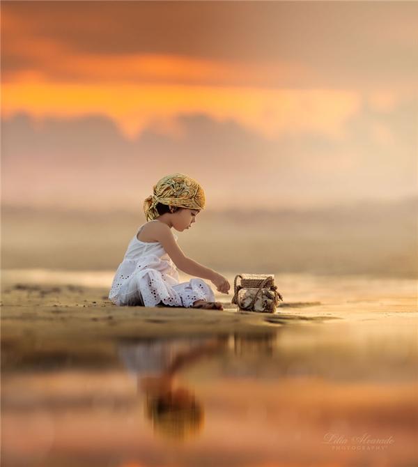 Mẹ của hai thiên thần nhỏ cho rằng nhiếp ảnh không chỉ là ghi lại khoảnh khắc, mà còn là thứ để khơi nguồn sáng tạo và cảm hứng cho con người, mang lại niềm vui và lẽ sống.(Ảnh: Lilia Alvarado)