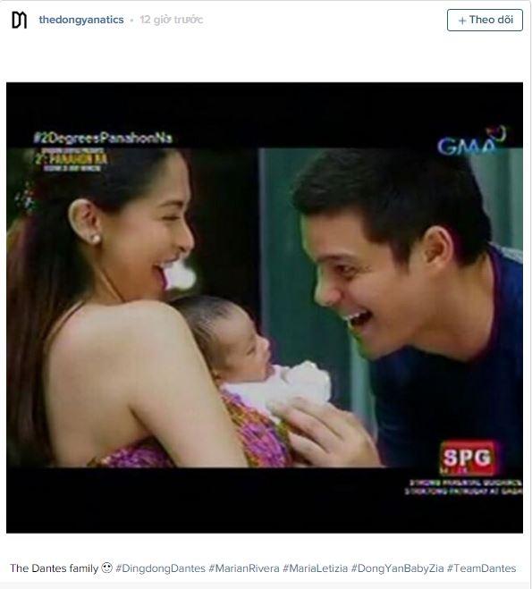 Mĩ nhân đẹp nhất Philippines lần đâu đưa con gái lên sóng truyền hình
