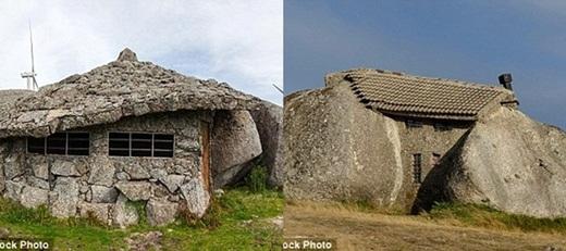 Ẩn mình giữa bốn tảng đá granite vững chãi, ngôi nhà kìlạ này trước đây là chỗở của một gia đình, sau đó được cải tạo thành bảo tàng địa phương và hiệnlà nơi cực kì thu hút khách du lịch.(Ảnh: Internet)