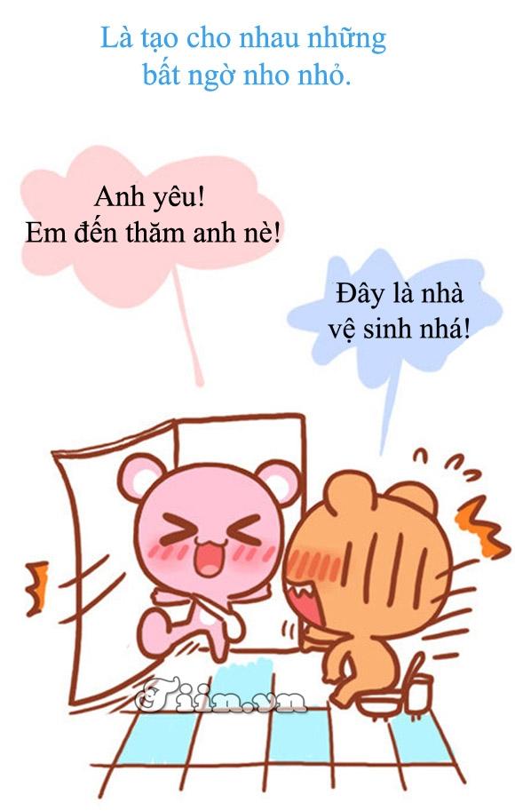 Funny: Sự ngọt ngào của tình yêu xa!