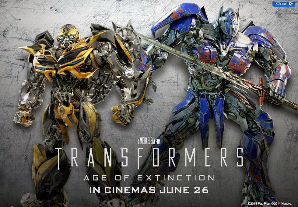 [Review] Transformers 4: Age of extinction