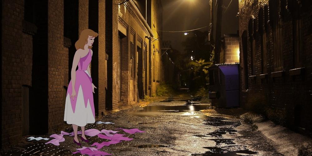 Chùm ảnh: Sự thật phũ phàng khi nhân vật hoạt hình Disney bước ra đời thực!