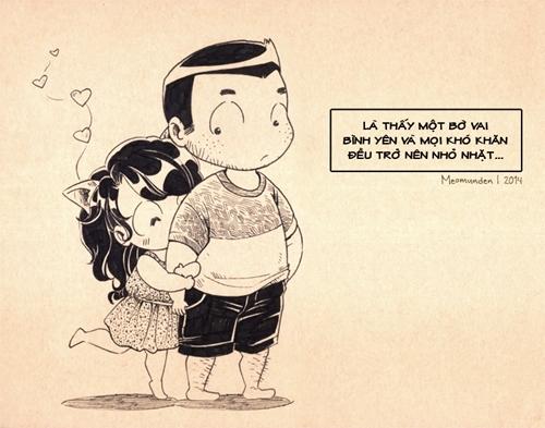 Funny: Bộ tranh 'Tình yêu là gì' khiến FA ghen tỵ!