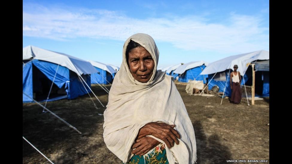 Chùm ảnh: Số phận bi kịch của những người tị nạn...