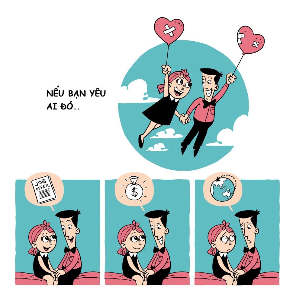 Nếu bạn thật lòng yêu một ai đó...