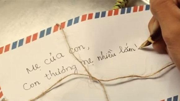 Lần đầu tiên viết thư cho mẹ