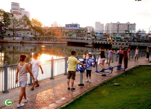 Một sáng Sài Gòn trong lòng