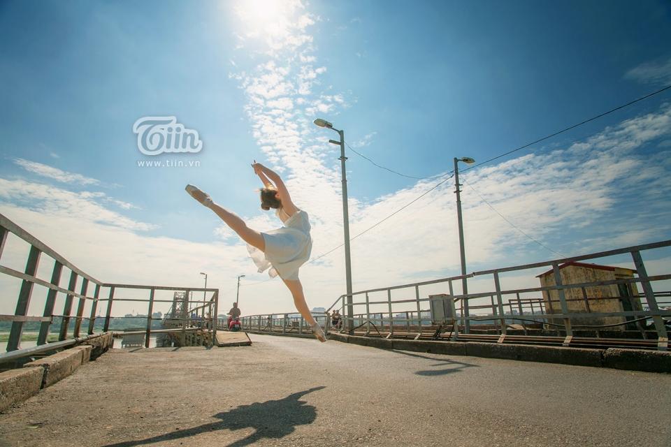 Ngắm bộ ảnh múa ballet tuyệt đẹp của nhiếp ảnh gia Việt