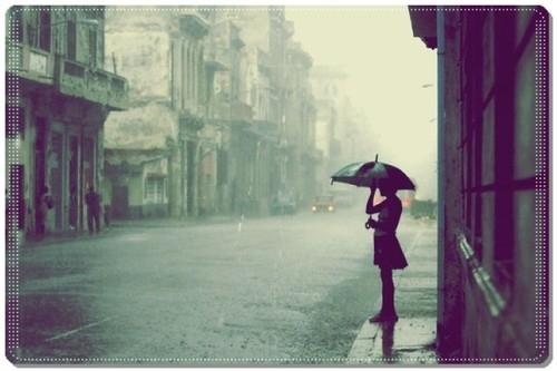 Nhớ anh ngày mưa…!