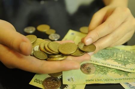 Thái độ với những đồng tiền lẻ