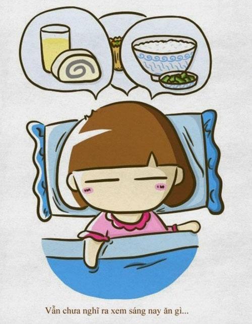 Bộ ảnh vui: Những lý do vì sao bạn thích... ngủ nướng!