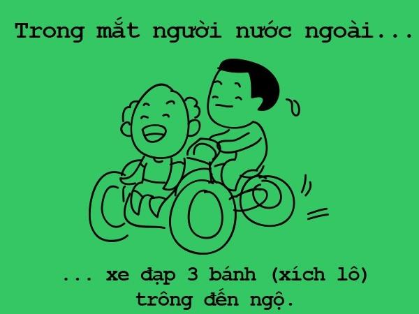 Tranh vui: Sự khác biệt chỉ có ở Hà Nội qua con mắt người nước ngoài