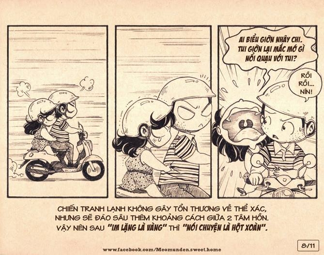 Cộng đồng mạng lại tiếp tục sốt với bộ truyện tranh
