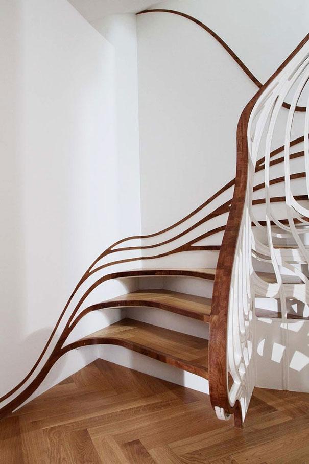 Bộ ảnh: Những chiếc cầu thang độc đáo khiến ai ai cũng thích mê