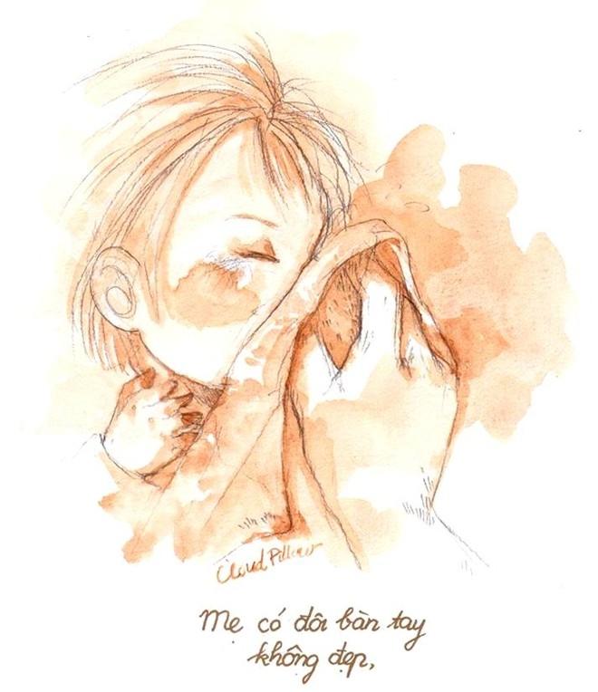 Bộ tranh: Câu chuyện cảm động về đôi bàn tay của mẹ