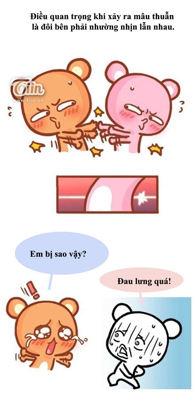 Truyện tranh: Còn giận là còn yêu!