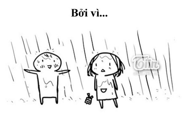 Tranh vui: Một chàng trai yêu bạn là khi...