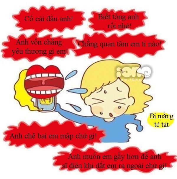Tranh vui: Con trai đừng quá dễ dãi tin lời nói của con gái