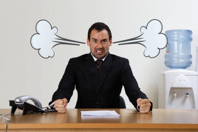"""6 cách hay để đối phó với sếp """"nóng tính"""""""
