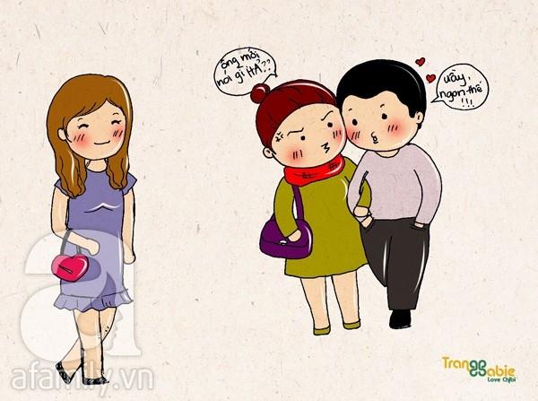 Tranh vui: 1001 lý do khiến các chàng... quên mình có vợ
