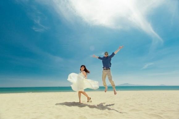 10 mẹo chụp ảnh cưới đẹp khi chú rể thấp hơn cô dâu