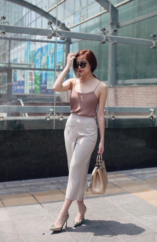 Mix quần culottes