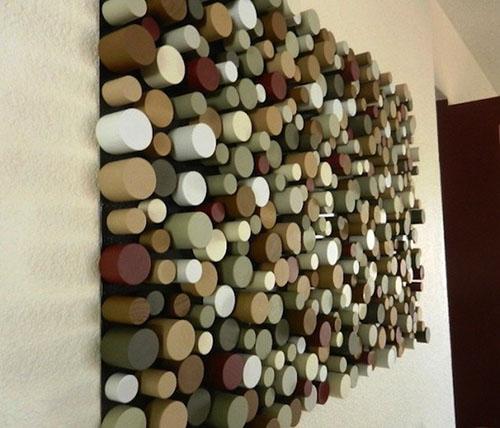 Tô điểm nhà xinh bằng tường 3D đẹp mà đơn giản