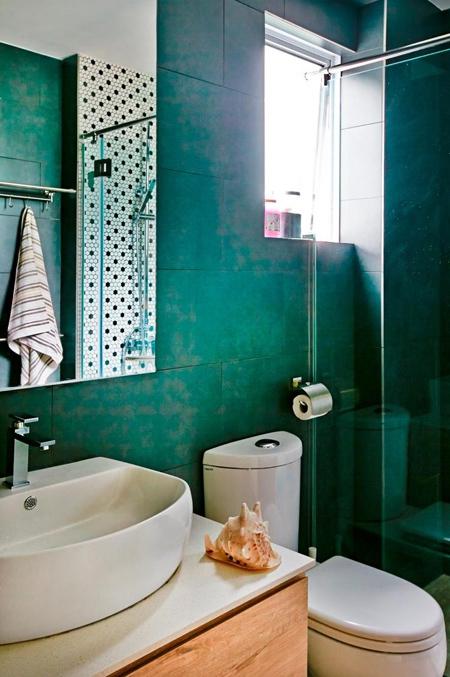 Căn hộ ấm áp nhờ nội thất nhiều màu sắc
