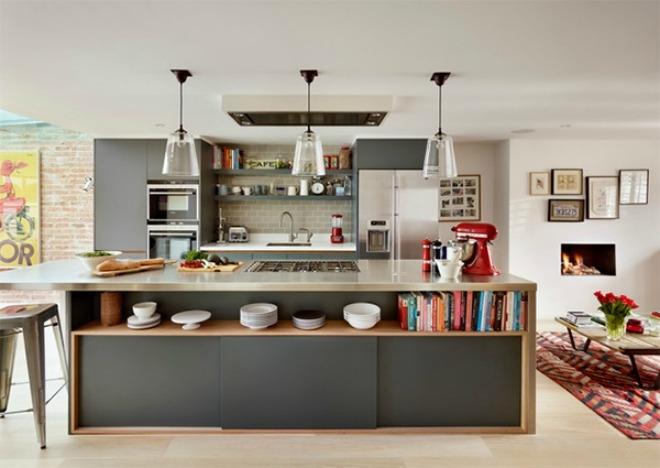 10 căn bếp được người nội trợ yêu thích