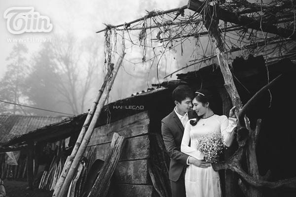 Bộ ảnh cưới đẹp mơ màng giữa núi rừng Sapa