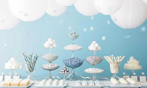 Bàn Candy Bar ngọt ngào trong tiệc cưới